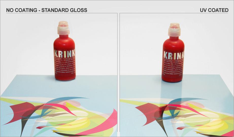 Uv coating gloss levels