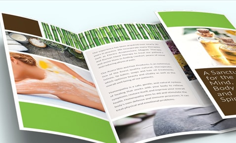 custom 8 5 x 14 brochure professional quality fast delivery