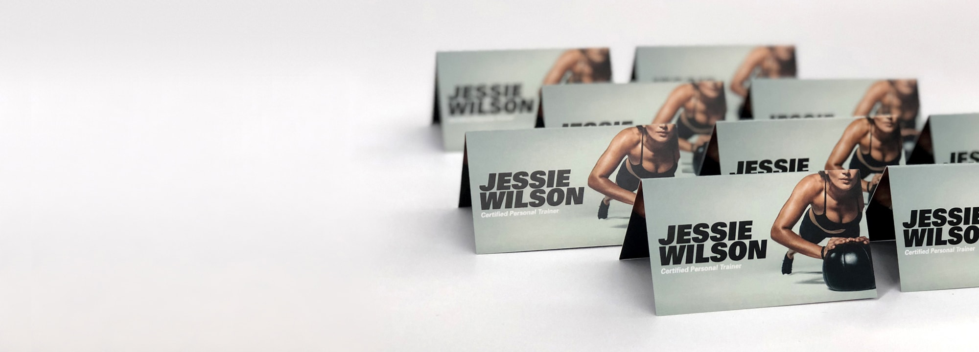 Custom folding corner business cards professional quality fast folding business card colourmoves