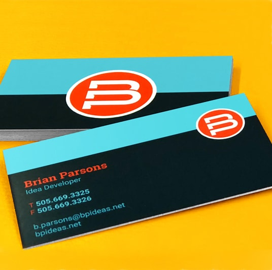 Heavyweight Business Card
