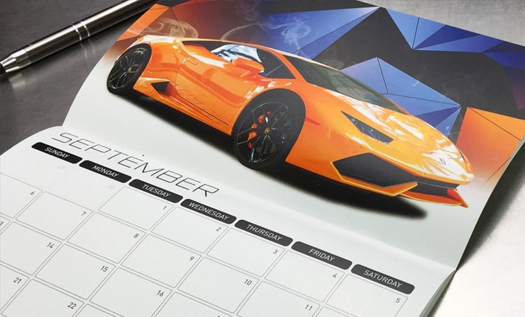 "Calendar 5.5 x 8.5"""